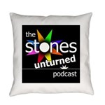 Stones Unturned Podcast Logo Everyday Pillow