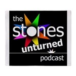 Stones Unturned Podcast Logo Throw Blanket