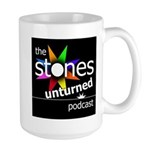 Stones Unturned Podcast Logo Mugs