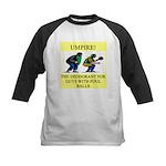 umpire t-shirts presents Kids Baseball Jersey