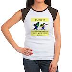 umpire t-shirts presents Women's Cap Sleeve T-Shir