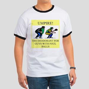umpire t-shirts presents Ringer T