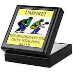 umpire t-shirts presents Keepsake Box