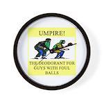 umpire t-shirts presents Wall Clock