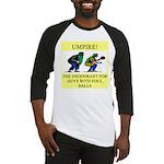 umpire t-shirts presents Baseball Jersey