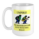 umpire t-shirts presents Large Mug