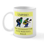 umpire t-shirts presents Mug