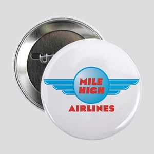 Mile High Airlines Insignia Button