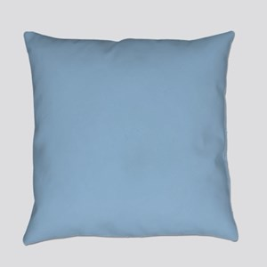 Airy Blue Solid Color Everyday Pillow