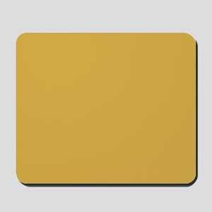 Spicy Mustard Solid Color Mousepad