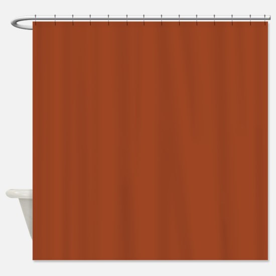 Potters Clay Solid Color Shower Curtain