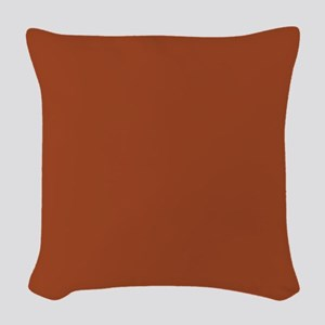 Potters Clay Solid Color Woven Throw Pillow