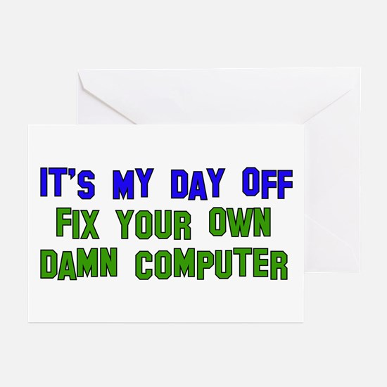 Won't Fix Computer Greeting Cards (Pk of 10)