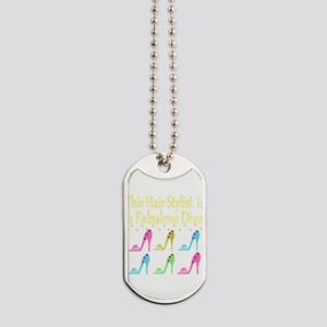 TOP HAIR STYLIST Dog Tags