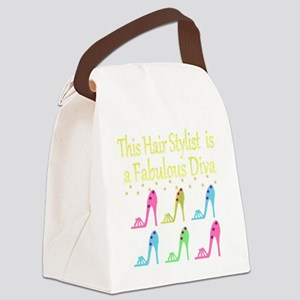 TOP HAIR STYLIST Canvas Lunch Bag