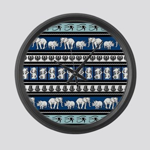 TRIBAL Large Wall Clock