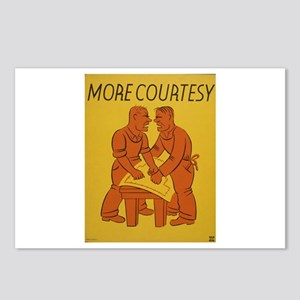 More Courtesy Postcards (Package of 8)
