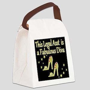 TOP LEGAL ASST Canvas Lunch Bag