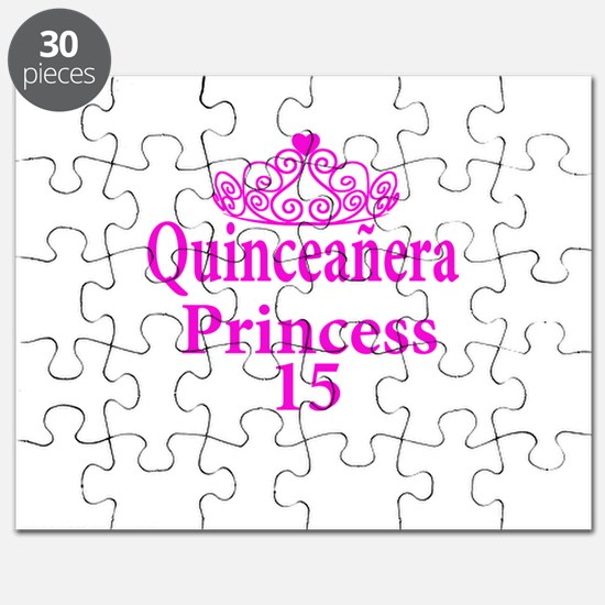 15th Birthday Quinceanera Princess Ladies Puzzle