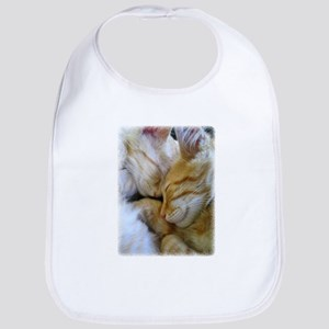Snuggle Kittens Bib