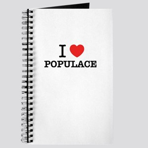I Love POPULACE Journal