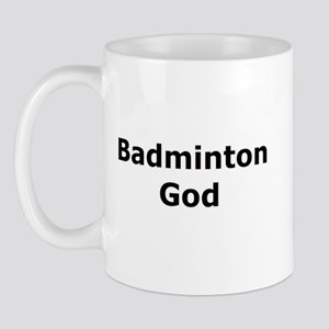 Badminton God Mug