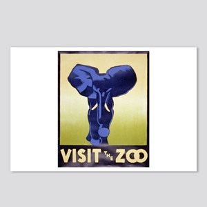 Visit The Zoo Postcards (Package of 8)