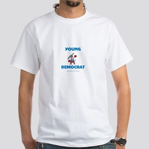 Young Democrat White T-Shirt