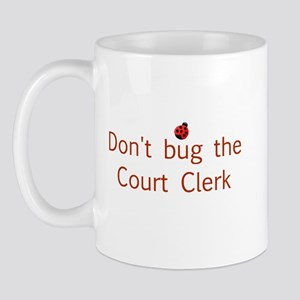 Court Clerk Mug