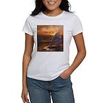 PEACE WHALES Women's T-Shirt