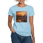 PEACE WHALES Women's Light T-Shirt