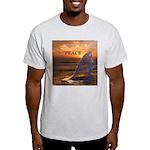 PEACE WHALES Light T-Shirt