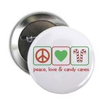 Peace Love Candy Canes 2.25