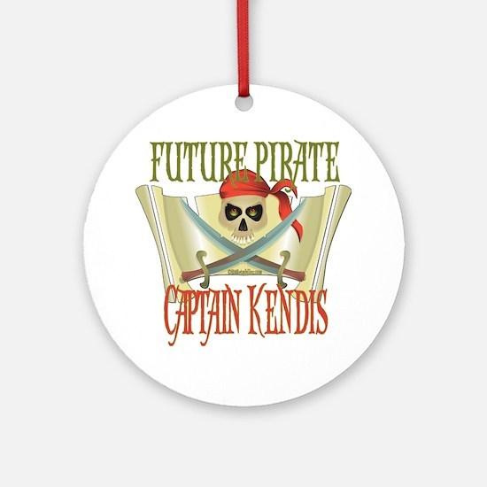 Captain Kendis Ornament (Round)