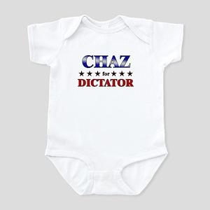 CHAZ for dictator Infant Bodysuit