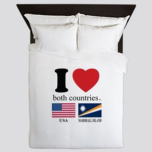 USA-MARSHALL ISLAND Queen Duvet