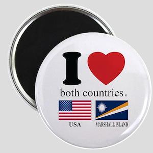 USA-MARSHALL ISLAND Magnet