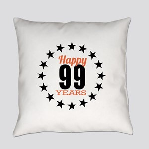 Happy 99 Years Birthday Everyday Pillow