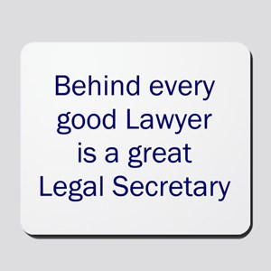 Legal Secretary Mousepad