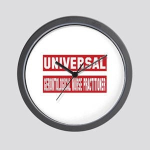Universal Gerontological Nurse Practiti Wall Clock