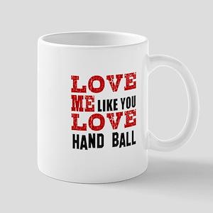 Love Me Like You Love Foosball Mug