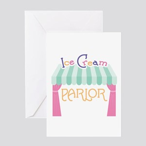 Ice Cream Parlor Greeting Cards