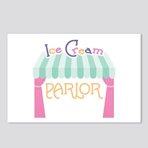 Ice Cream Parlor Postcards (Package of 8)