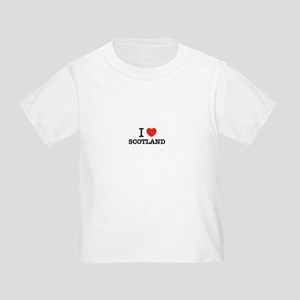 c844b9d1 I Love Scotland Toddler T-Shirts - CafePress