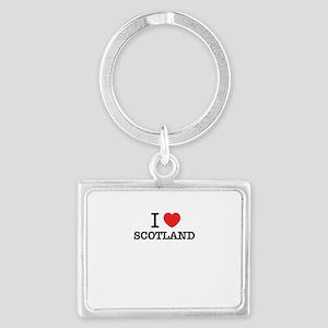 I Love SCOTLAND Keychains
