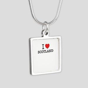 I Love SCOTLAND Necklaces