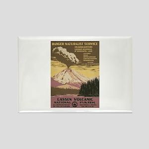 Mt. Lassen N.P. Rectangle Magnet