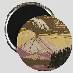Mt. Lassen N.P. Magnet