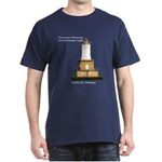 Keweenaw Waterway Lower Entrance Lightdark T-Shirt