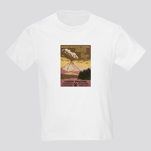 Mt. Lassen N.P. Kids Light T-Shirt